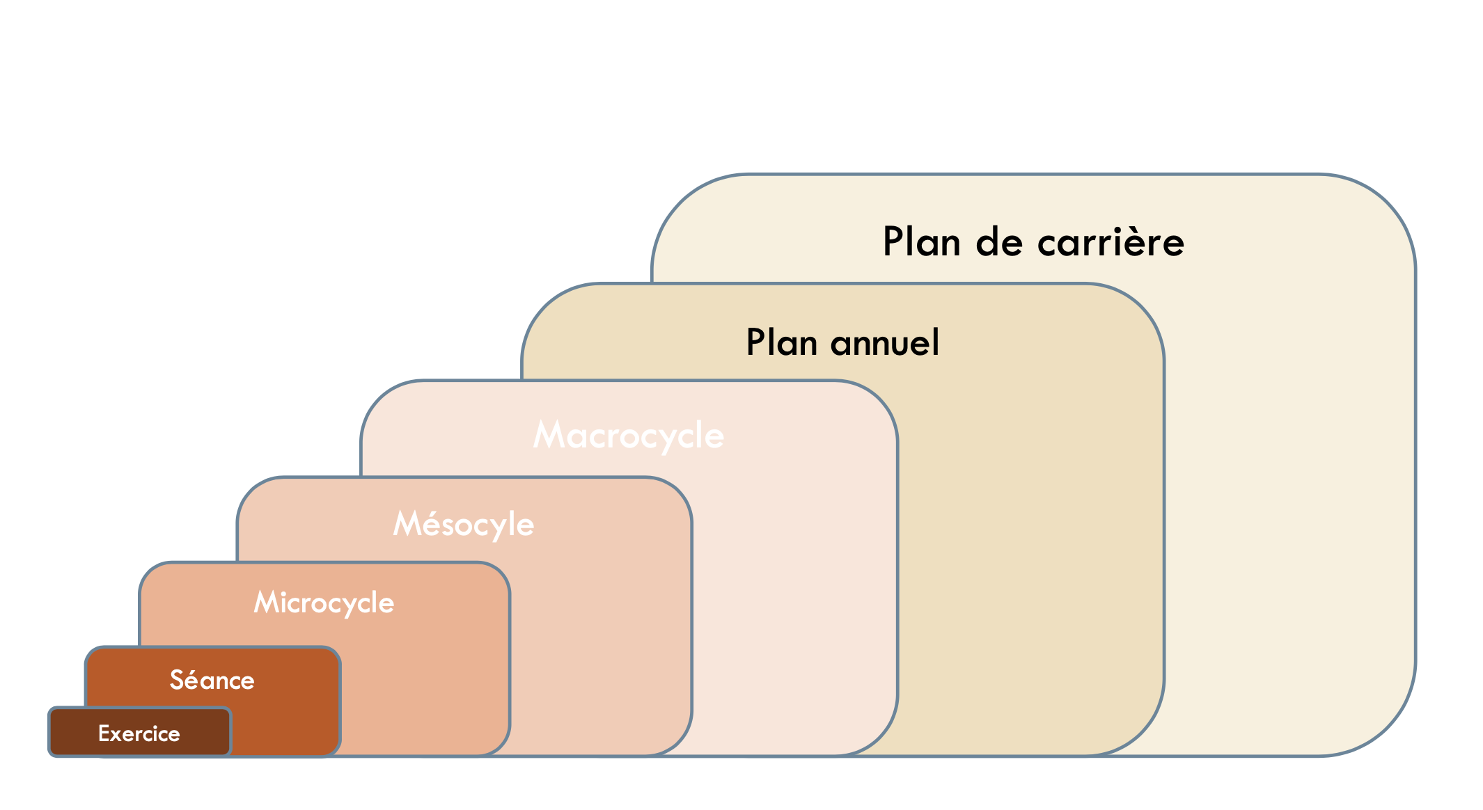 planification structure de l'entraînement